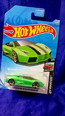 Hot Wheels Lamborghini Reventon Roadster Hw Roadsters 2 5 Green Die