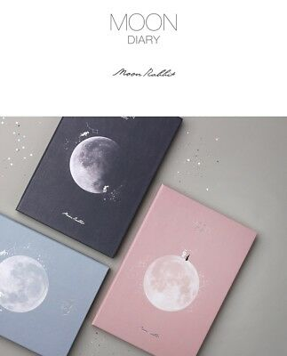 [2019 Moon Diary Special Edition ]Undated Scheduler Calendar Planner+Tracking No