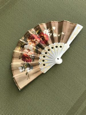 Children's Or Doll's Hand Held Fan