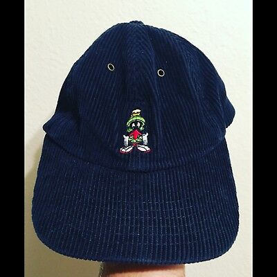 Vintage 98' Marvin The Martian Curdory Hat