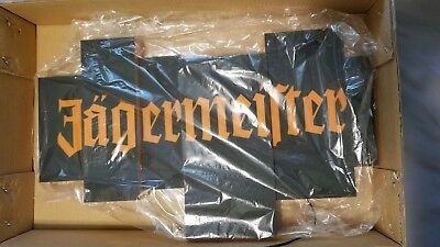 "NEW Jagermeister Light Up Wall Mount ""Building Block Signage, Plastic"" Sign"