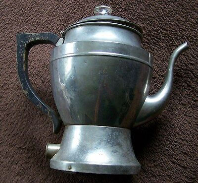 Coleman Lamp & Stove Co. 1930's metal percolator coffee pot