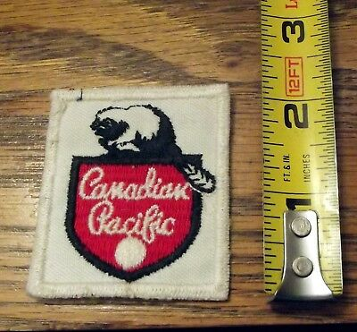 Canadian Pacific Beaver Patch Canada's Railroad