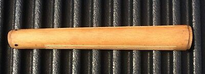 SMLE Enfield #4 REAR HANDGUARD GROOVES TOP WOOD NOS
