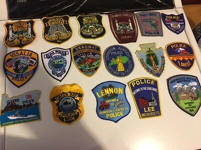 "17 Different ""gateway To....""   Special Law Enf Patches -- Great Collection !!"