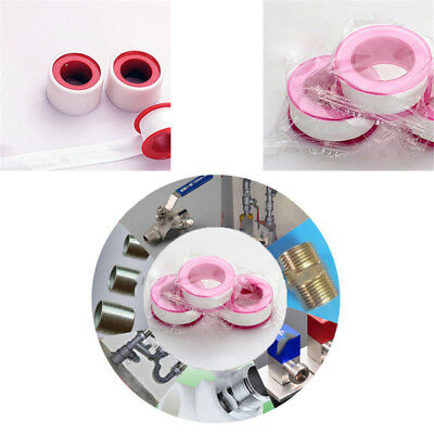 Teflon Plumbing Fitting Thread Seal Tape Roll For Water Pipe New 1M 10PCS