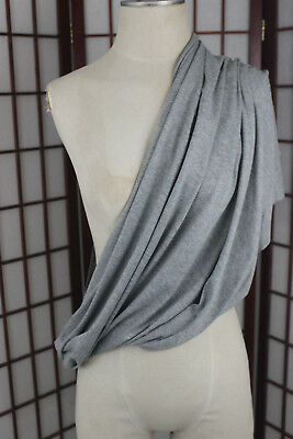 Nuroo Nursing Anywhere Any Way Scarf Solid Heather Gray One Size Fits All