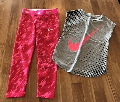 Nike Leggings and Top - size 5