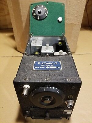 ARC 5, R-27, 3-9 Mhz Receiver and Dyno Motor