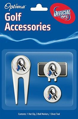Afl Golf Accessory Pack - Collingwood - Official Afl Product - Gift Idea!