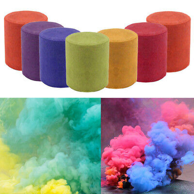 Smoke Cake Colorful Round Bomb Effect Show Magic Photography Video MV Aid Toy