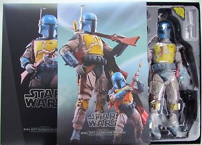 2018 Hot Toys Boba Fett animation version, Sideshow exclusive, Star Wars