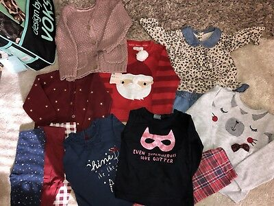 Baby Girl Winter Bundle 9-12 Months Gap, Mothercare, Next