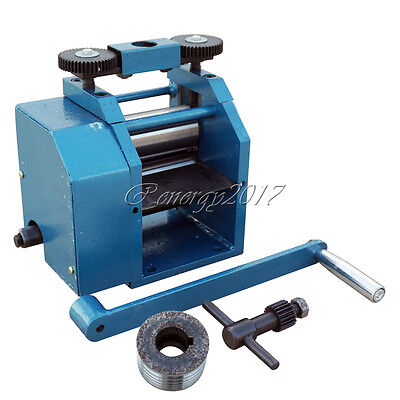 """4"""" 130mm Jewelry Rolling Mill Combination for Small Quality Manufacturer"""