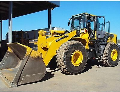Komatsu WA470-5 & WA480-5 Wheeled Loader Workshop Manual
