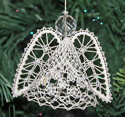 Angel Christmas Torchon Bobbin Lace Pattern Lacemaking *PATTERN ONLY*