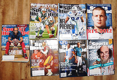 9x Sports Illustrated, NFL Previews 2017 2016 2015 2014 2013 2012 2011 2010 Jets