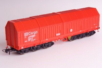 Roco H0 46918 12-wheel wagon DB Cargo, good used condition with box and paper