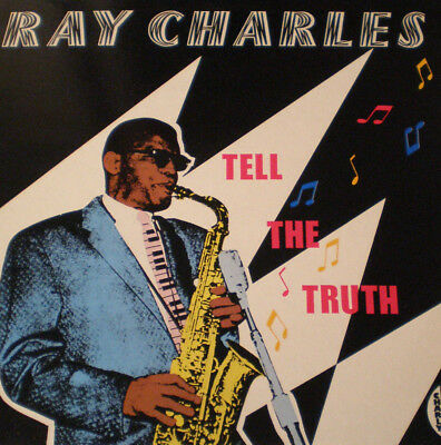 Ray Charles - Tell The Truth - Uk 84 - Mint