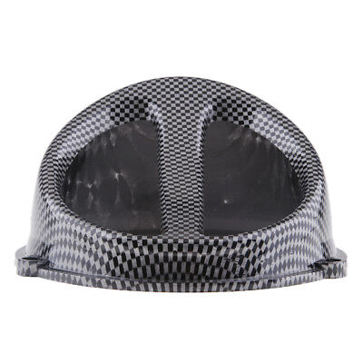 Carbon Fiber Color Air Scoop Fan Cover Cap Fits GY6 125cc 150cc Scooter