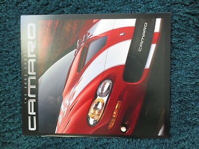 2002 Chevrolet Camaro Ss And Z28  35Th Anniversary Dealer Brochure New And Cool