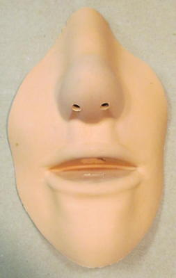 Ambu replaceable face mask for CPR manikin