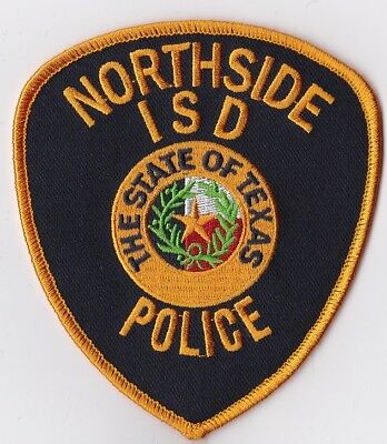Northside ISD Police Patch Texas TX