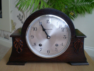 Vintage Garrard Striking Mantel Clock
