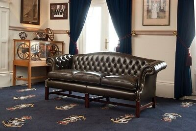 Regency Buttoned  Greenwich   Sofa, By John Booth 1825  Classic Replica