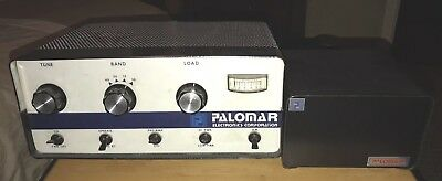 Palomar 300A Ham Radio Linear Amplifier w/ Power Supply VG Working Condition