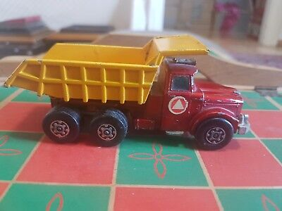 Matchbox Superkings Scammell Contractor, Tipper Truck 1971