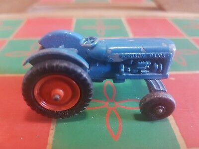 Vintage Lesney Matchbox Regular Wheel NO.72 Fordson Major Tractor
