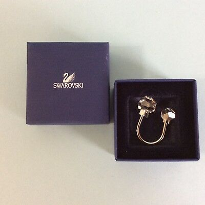 Swarovski  - Key Ring With Removable Crystal Ball , Mint In Box With Certificate