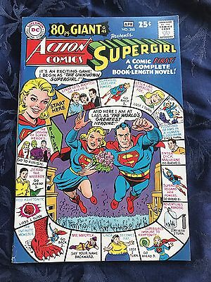 Action Comics #360 Dc Supergirl 1968 80 Pg Giant #45 Rare Nm 9.0