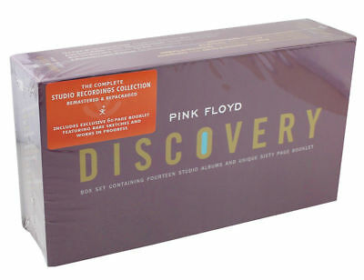 Pink Floyd Discovery Sealed Box Complete Album Collection 16CD+BOOK Music CD Set
