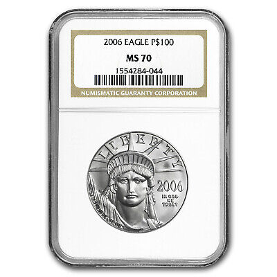 1 oz Platinum American Eagle MS-70 NGC (Random Year) - SKU #150218