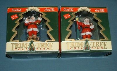 Coca Cola Trim A Tree Ornaments #3 - 1993 - Mib