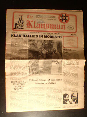 Modesto (CA) Piece of History...When the Klan was Here