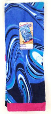 Better Homes & Gardens Oversized Blue Beach Towel  Measures 40in W  x 72in L