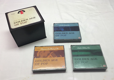 Golden Age Of Pop 9 CD 142 Hits Time Life New & Sealed