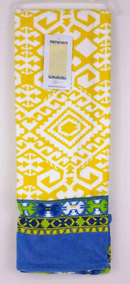 Mainstays Yellow  Beach Towel  Measures 34in W  x 64in L  100% Cotton New