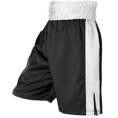 Classic Style Boxing Short With Size Pannel - XXL (3 COLOURS)