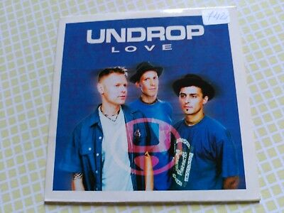 Promo Cd Single Undrop - Love - Columbia Spain 1999 Vg+ 1 Track
