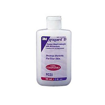 NEW 3M 70XWzv1 1 EA Avagard D Instant Hand Antiseptic with Moisturizers 3 oz.