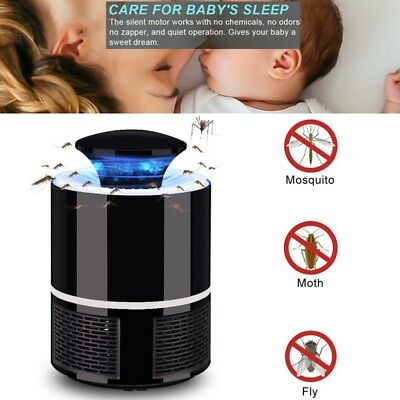 WINOMO Mosquito Trap Zapper Lamp Inhaled Fly Killer for Home Indoor Bedroom
