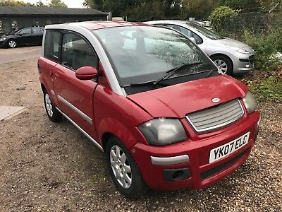 2007 Microcar MC1 Dynamic HSE CVT - Spares or Repair.