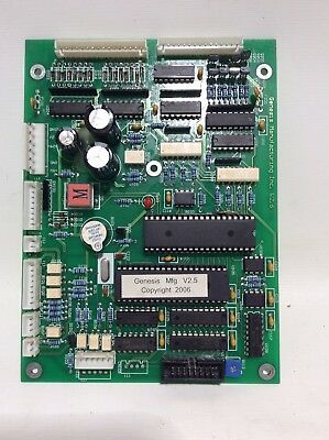 Genesis Mother Board Go127/137 380 Combo Vending Machine Part,tested