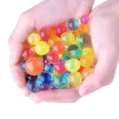 Hot 250PCS/Lot Water Plant Flower Jelly Crystal Beads Gel Ball Soil Mud Pearl