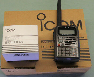 Icom IC-T90A Tri-Band 50,144,440 Mhz Am,fm,wfm Transceiver & wide Scanner