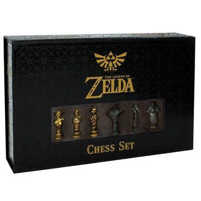 NEW Chess: The Legend Of Zelda Collector's Edition Limited Set Board 6TT5zy1